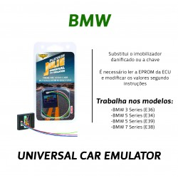 CHIPART.PT - 0102-001-1 - BMW EWS II & III - Julie Emulador Universal