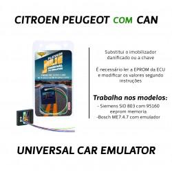 CHIPART.PT - 0102-001-4 - Citroen, Peugeot com CAN - ver 2 - Julie Emulador Universal