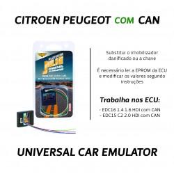 CHIPART.PT - 0102-001-8 - Citroen, Peugeot com CAN - Antigo - Julie Emulador Universal