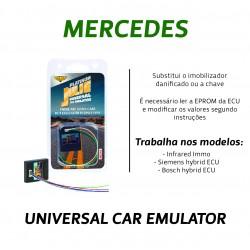 CHIPART.PT - 0102-001-11 - Mercedes CR sem CAN infrared - Julie Emulador Universal