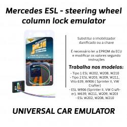 CHIPART.PT - 0102-001-16 - Mercedes - Emulador para Bloqueio da Coluna Direcção - Julie Emulador Universal