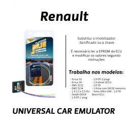 CHIPART.PT - 0102-001-19 - Renault com CAN - ver 1 - Julie Emulador Universal