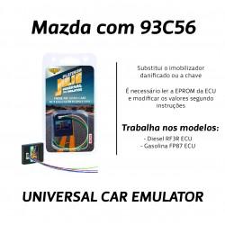 CHIPART.PT - 0102-001-29 - Mazda com memoria 93C56 - Julie Emulador Universal