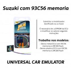 CHIPART.PT - 0102-001-33 - Suzuki com memoria 93C56 - Julie Emulador Universal