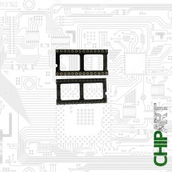 CHIPART.PT - 0303-012 - Socket DIL 28 Pins